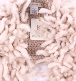 Пухкав шал Kontessa- MyFashionstore.eu