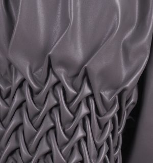 Ефектна кожена блуза Kontessa - MyFashionstore.eu