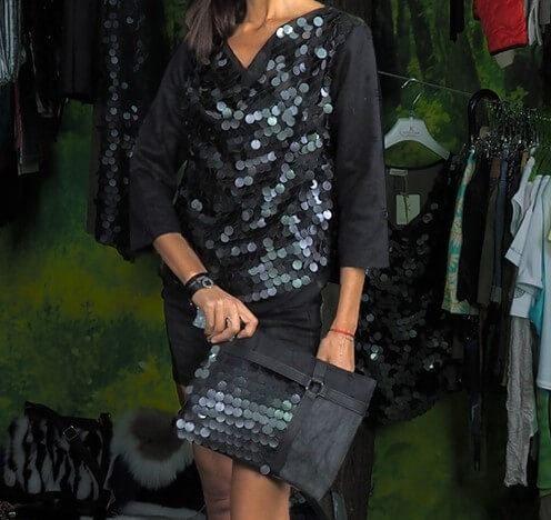 Блуза с пайети Kontessa- MyFashionstore.eu