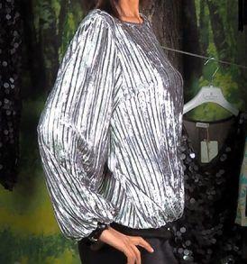 Дамска блуза плисе Kontessa - MyFashionstore.eu