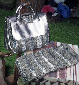 Чанта с метален ефект Kontessa - MyFashionstore.eu