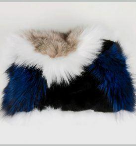 Чанта с естествен косъм Gena - MyFashionstore.eu
