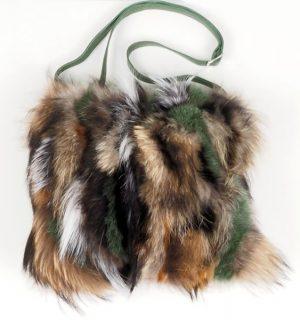 Чанта с естествен косъм Gena 2