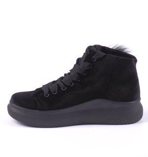 Велурени обувки с очички Exe - MyFashionstore.eu