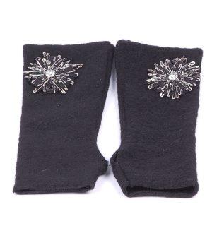 Вълнени ръкавици без пръсти Kontessa - MyFashionstore.eu