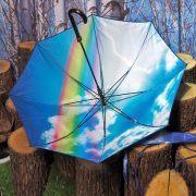 Дизайнерски чадър Moschino- MyFashionStore.eu