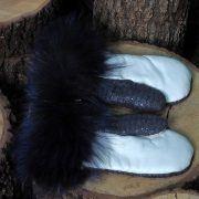 Ръкавици с естествен косъм Gena