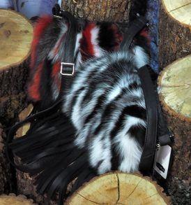 Чанта с естествен косъм Gena 4Чанта с естествен косъм Gena 4