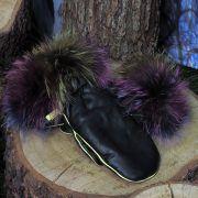 Ръкавици с естествен косъм Gena 2 - MyFashionstore.eu