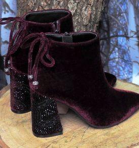 Обувки-боти Alma en Pena- бордо - MyFashionStore.eu