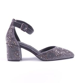 Обувки на ток Alma en Pena сиви - MyFashionStore.eu