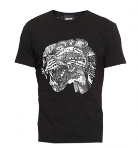 Тениска Just Cavalli Tiger head - MyFashionstore.eu