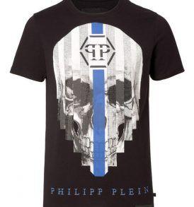 """Тениска Philipp Plein ROUND NECK SS """"MY PLEIN"""" - MyFashionstore.eu"""