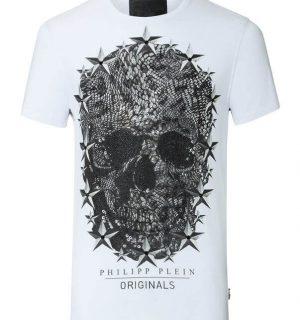 "Тениска Philipp Plein ROUND NECK SS ""LINCON"" - MyFashionstore.eu"