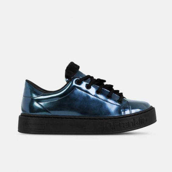 Дамски обувки D.Franklin- blue- MyFashionstore.eu