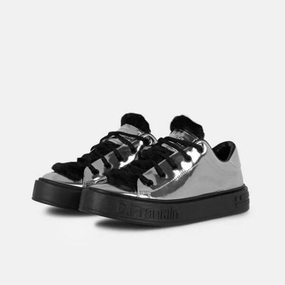 Дамски обувки D.Franklin- silver- MyFashionstore.eu