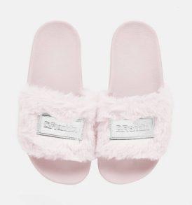 Пухкави чехли D.Franklin- pink - MyFashionstore.eu
