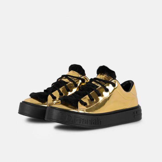 Дамски обувки D.Franklin- gold - MyFashionstore.eu