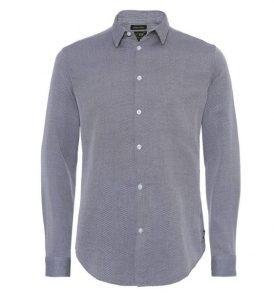 Мъжка риза Armani Jeans- blue - MyFashionstore.eu