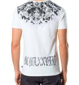"Тениска Philipp Plein ROUND NECK SS ""BRITISH"" - MyFashionstore.eu"