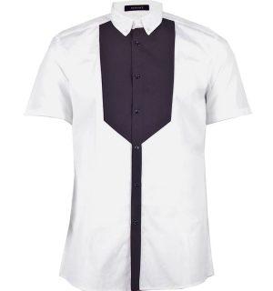 Бяла риза Versace - 4 - MyFashionstore.eu