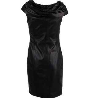 Елегантна кожена рокля Boutique Moschino - MyFashionstore.eu