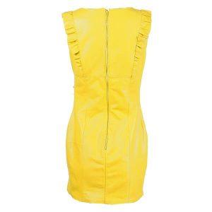 Кожена рокля Marpel - Yellow- MyFashionstore.euКожена рокля Marpel - Yellow- MyFashionstore.eu