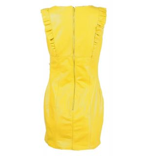 Кожена рокля Marpel - Yellow- MyFashionstore.euКожена рокля Marpel - Yellow- MyFashionstore.eu