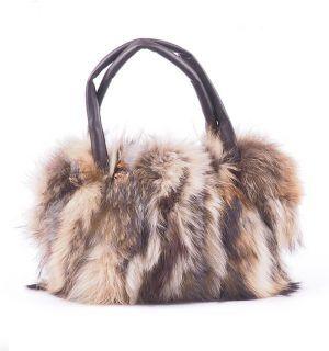 Чанта с естествен косъм Gena 5 - MyFashionstore.eu