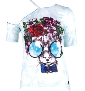 Тениска Culito from Spain- GATO CON GAFAS- MyFashionstore.eu