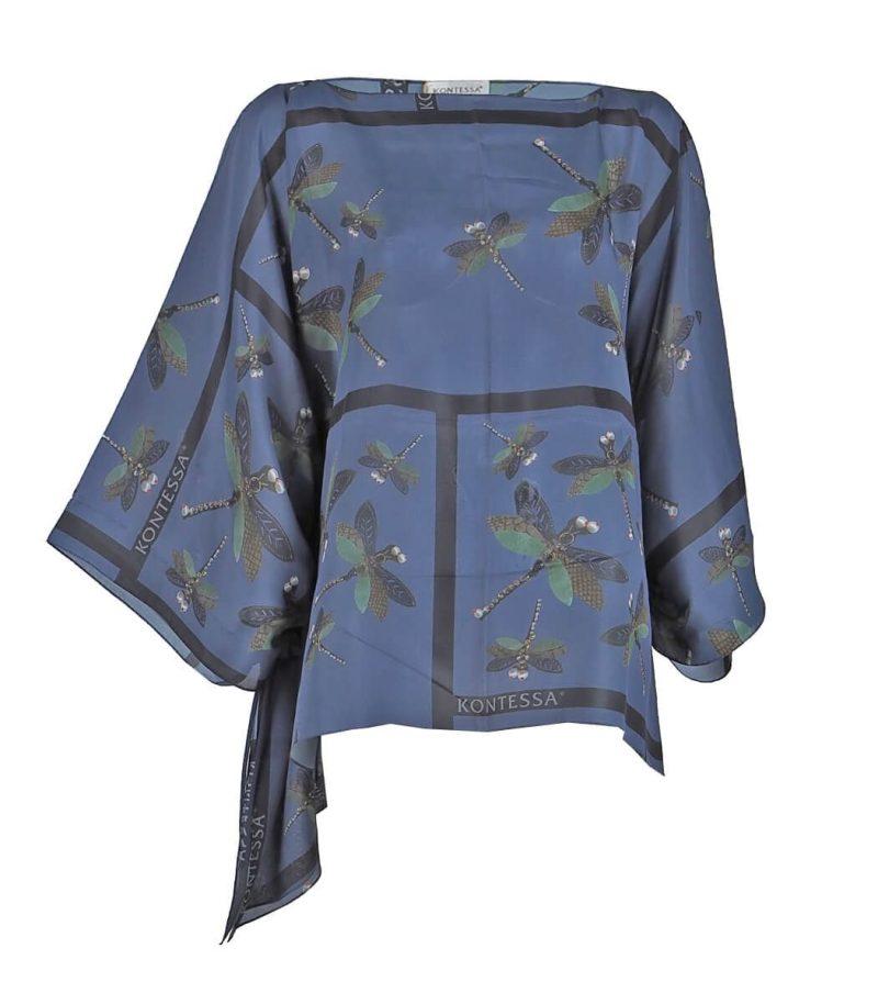 Копринена блуза Kontessa - MКопринена блуза Kontessa - MyFashionstore.euyFashionstore.eu