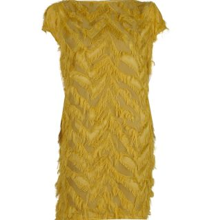 Ефирна рокля Kontessa- yellow - MyFashionstore.eu