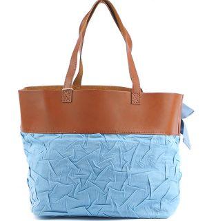 Дамскa чанта Kontessa- Blue&Brown - MyFashionstore.eu