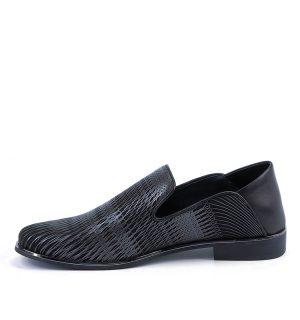 Мъжки обувки United Nude Jamie Gun Metal&Black