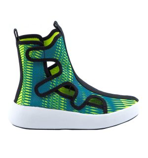 Летни боти United Nude Bo Space Neon Lime