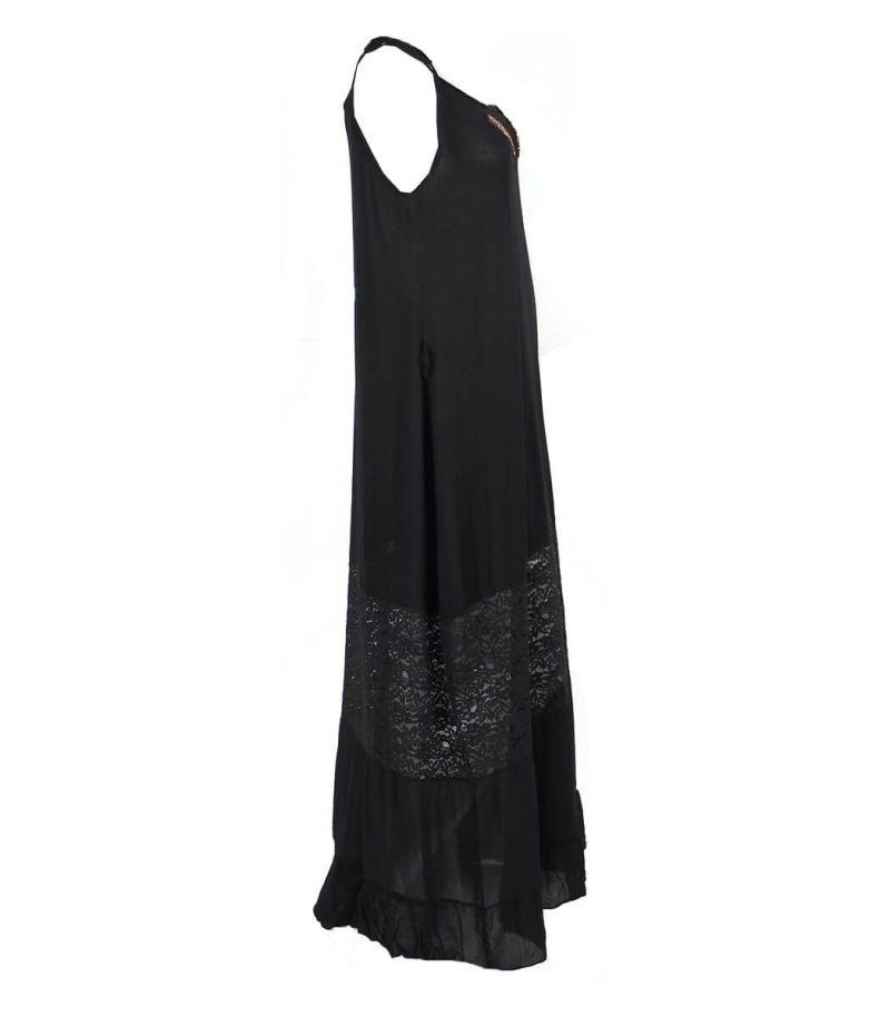 Черна рокля с дантела Odi et Amo - MyFashionStore.eu