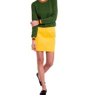 Жълта памучна пола DSQUARED2 - MyFashionStore.eu