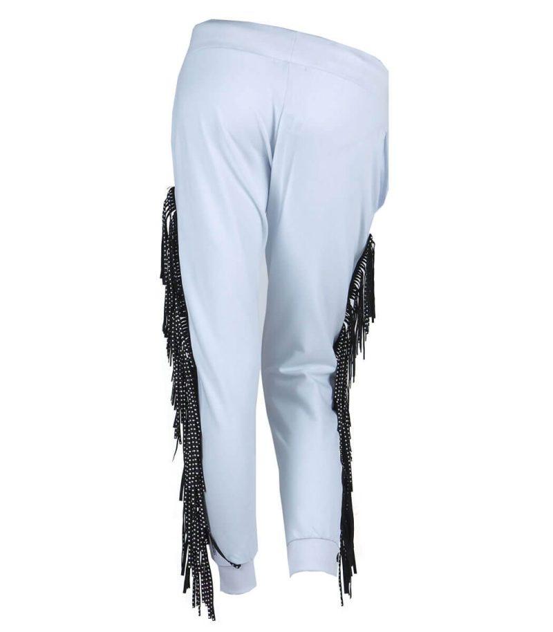 Бял панталон Odi et Amo - MyFashionStore.eu
