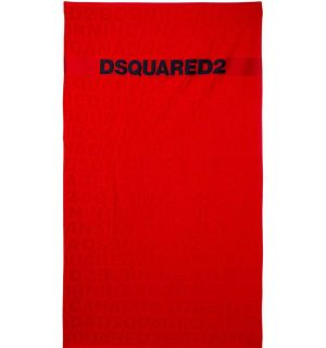 Плажна хавлия DSQUARED2- red - MyFashionStore.eu