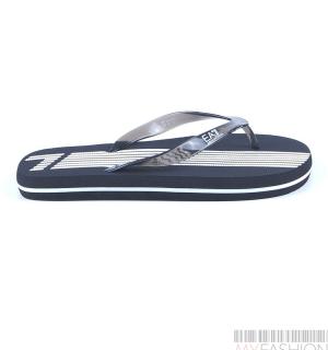 Мъжки джапанки EA7- black and white- MyFashionStore.eu