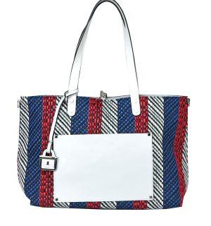 Бяла двулицева чанта INNUE'