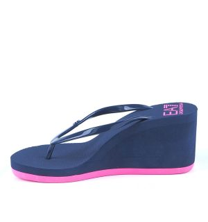 ЕА7 Чехли с платформа-blue and pink - MyFashionStore.eu
