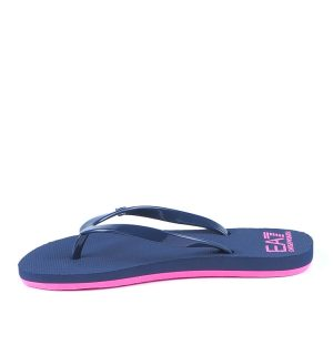 Дамски джапанки EA7- blue and pink - MyFashionStore.eu