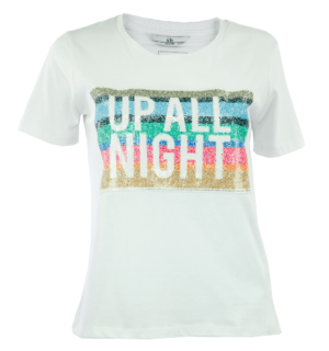 Бяла тениска Silvian Heach - MyFashionStore.eu