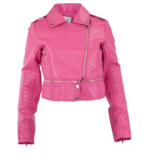 Кожено яке Silvian Heach pink - MyFashionStore.euКожено яке Silvian Heach pink - MyFashionStore.eu