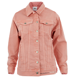 Дънково яке Silvian Heach- pink - MyFashionStore.eu