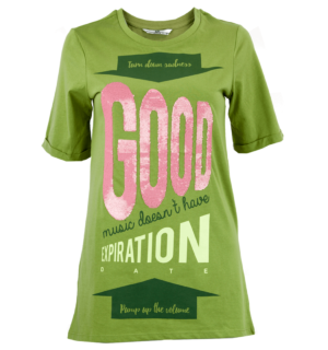 Зелена тениска Silvian Heach 2 - MyFaЗелена тениска Silvian Heach 2 - MyFashionStore.eushionStore.eu