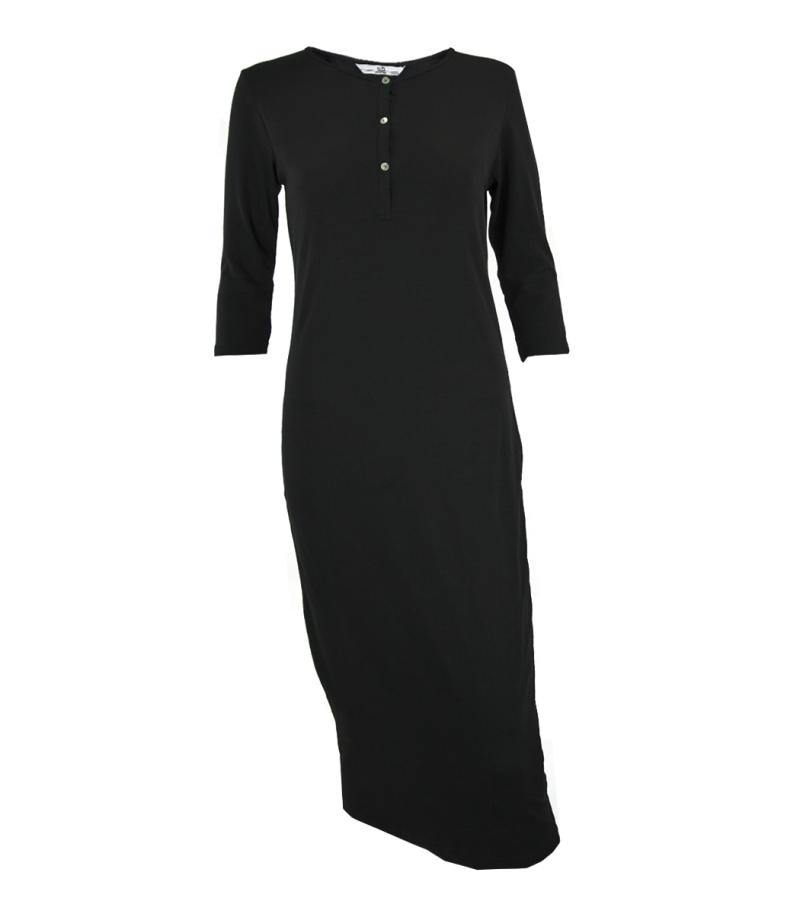 Черна рокля Silvian Heach - MyFashionStore.eu