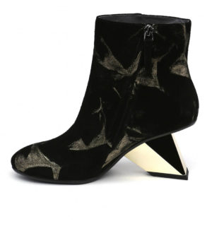 Боти United Nude Rockit Ace Black + Gold - MyFashionStore.eu