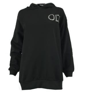 Черен суитчър Odi et Amo 2 - MyFashionStore.eu